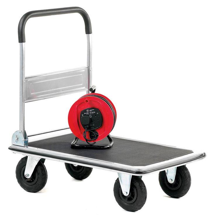 Large Wheeled Folding Trolley
