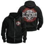 Hoodie!!  Klitschko Kapuzenjacke 'Baseball Logo' : Jetzt zum Vorzugspreis bestellen im Klitschko Plattenladen! klitschko.bravado.de Online-Shop für CD, DVD & SACD, Merch und Fashion aus allen Bereichen und Genres..