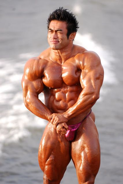 The Emperor of Japanese bodybuilding Hidetada Yamagishi