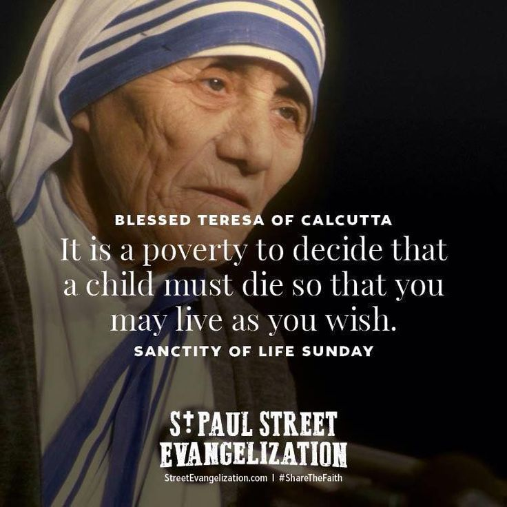 Catholic Quotes Mother Teresa: 1000+ Images About Pro-life On Pinterest