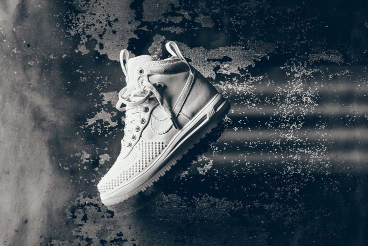 Nike Lunar Force 1 Duckboot - White / White - Ice