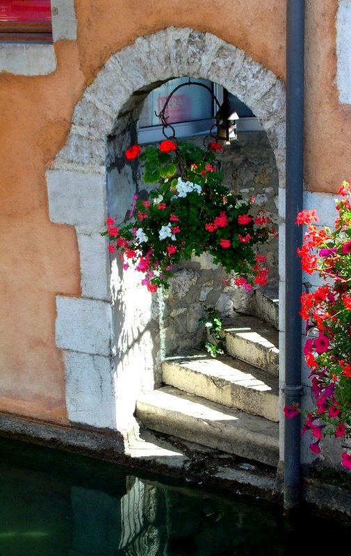 Doux petit accostage - Annecy, Rhône Alpes