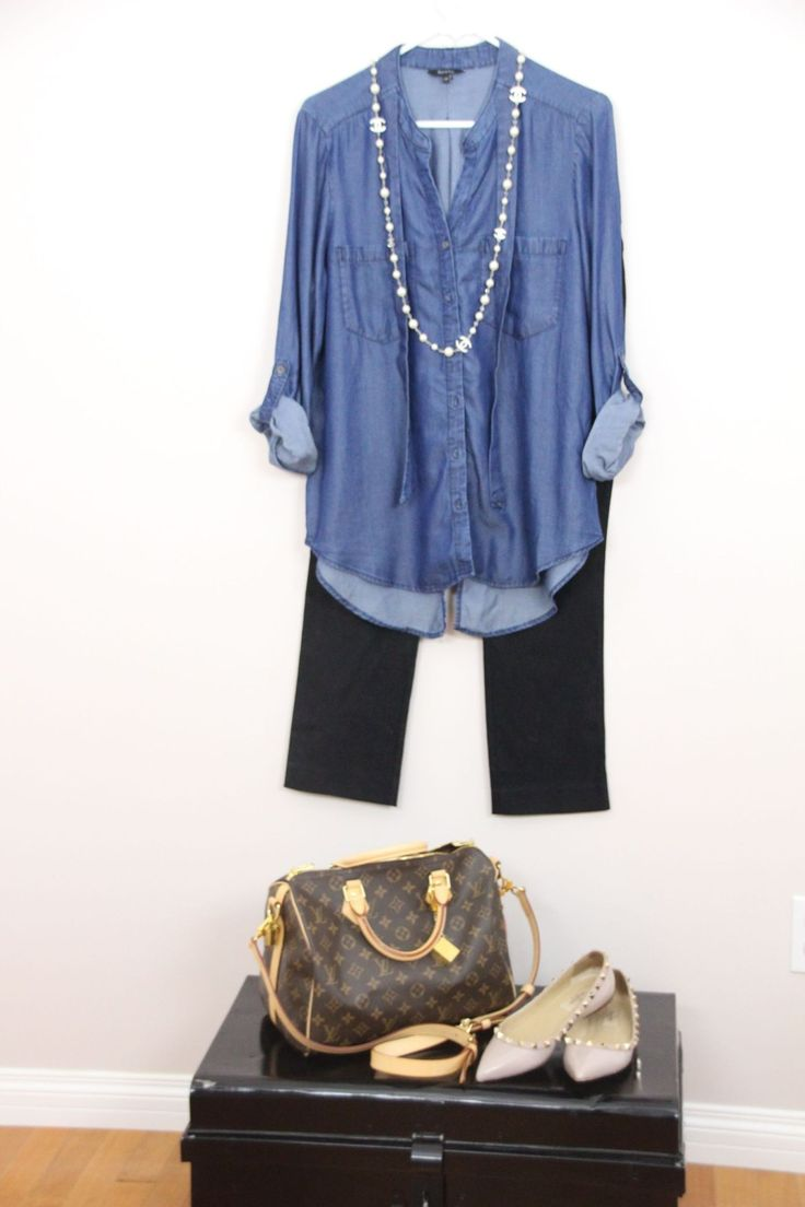 Casual day at the mall outfit - anamika.ca