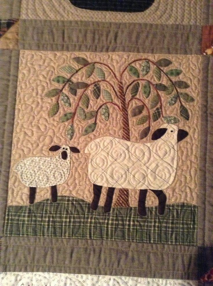 440 Best A Sheep Quilt Patterns Images On Pinterest