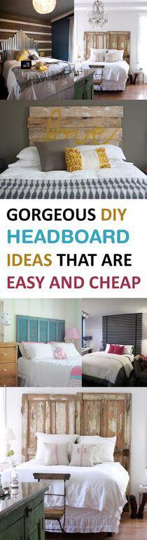 Best 25 cheap headboards ideas on pinterest headboard for Quick easy headboard ideas
