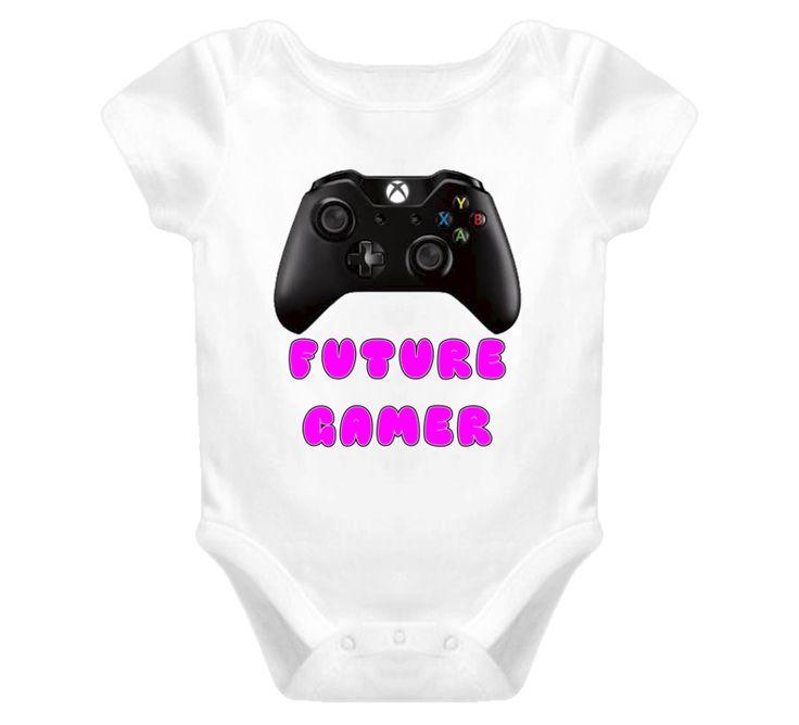 future gamer Baby One Piece