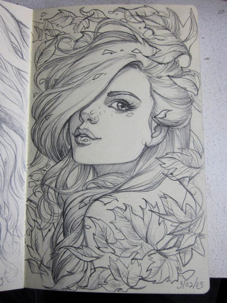 Moleskine 4 sketch by ~Sabinerich on deviantART