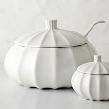 Modern Gourd Soup Tureen with Ladle from West Elm — Daily Find