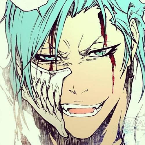 Grimmjow!!!!!! ♥_♥ The blood.