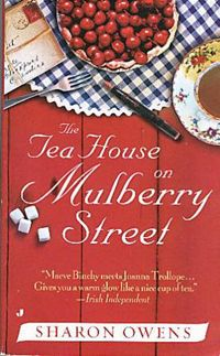 The two main characters own a tea house, and their story is interwoven with stories of their various (and often hilarious) customers.