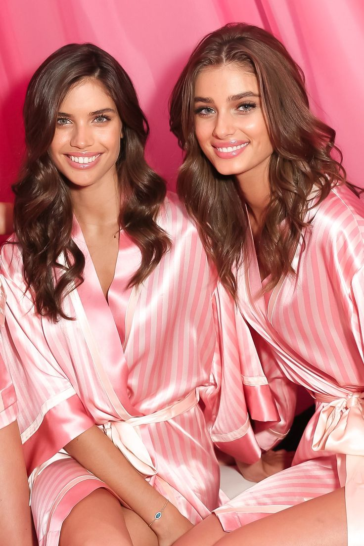 THEY'RE model BFFs and both became Angels last year, but Taylor Hill and Sara Sampaio have just joined another elite club: catwalk girls to watch.