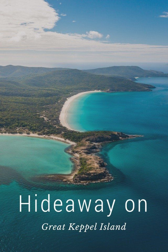 Hideaway on Great Keppel Island Prepare to relax... Great Keppel Island is located just off the Capricorn Coast in Queensland, Australia. #VisitCapricorn On Great Keppel Island... everyday life involves snorkel gear, cold drinks and a hammock. Forget your phone