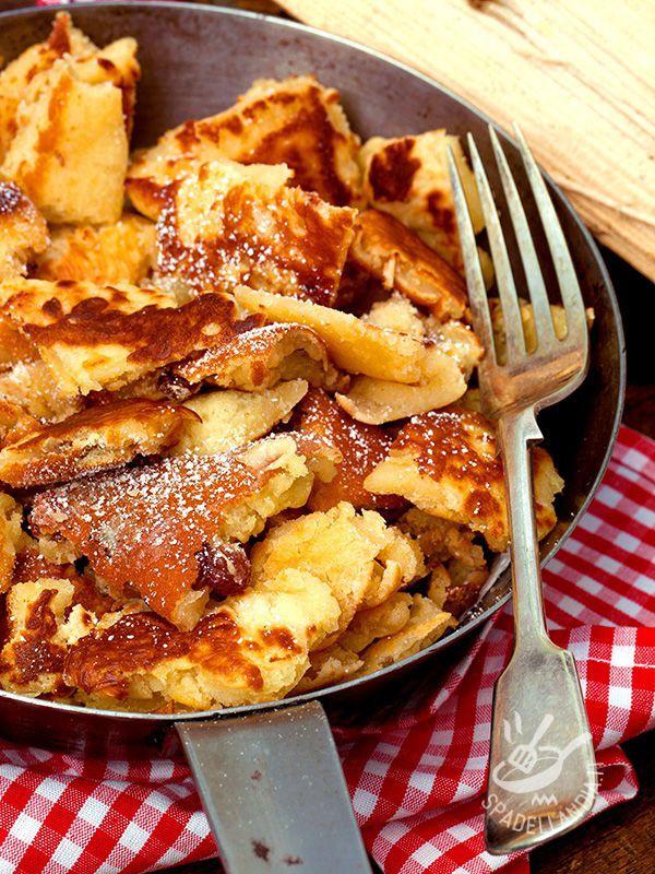 Le Kaiserschmarrn (o frittatine) sono dei famosi dessert austriaci: si trovano in tutta l'area dell'ex Impero austro-ungarico e nella Baviera. #Kaiserschmarrn
