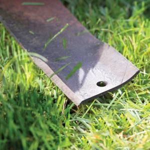 Lawn Mower Blade Sharpening  It's easy when you know what you're doing!