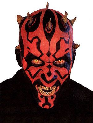 K Sol, Just because I love Darth Maul... You didn't say stay out of the Star Wars or Star Trek world.