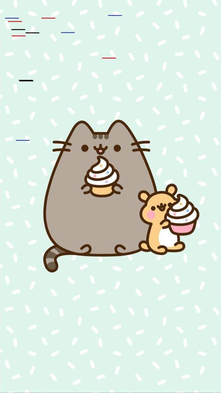 Pin By Casey Smith On Wallpaper In 2020 Pusheen Cute Pusheen Cat Wallpaper Iphone Cute