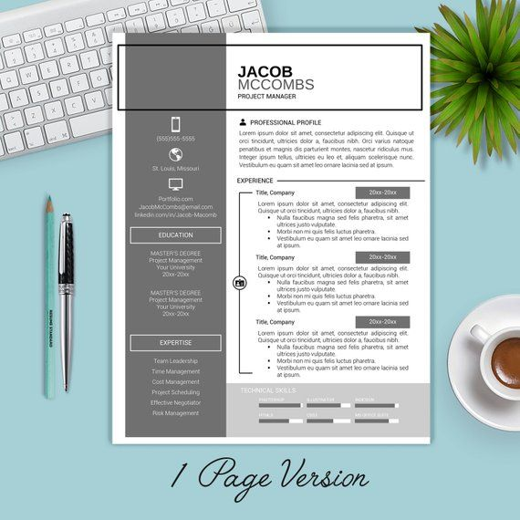 Sale Resume Template Instant Download Cv Template Cover Etsy Resume Template Cv Template Creative Resume