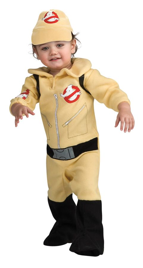 our ghostbuster toddler costume is in