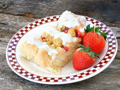 Strawberry & Cream Danish