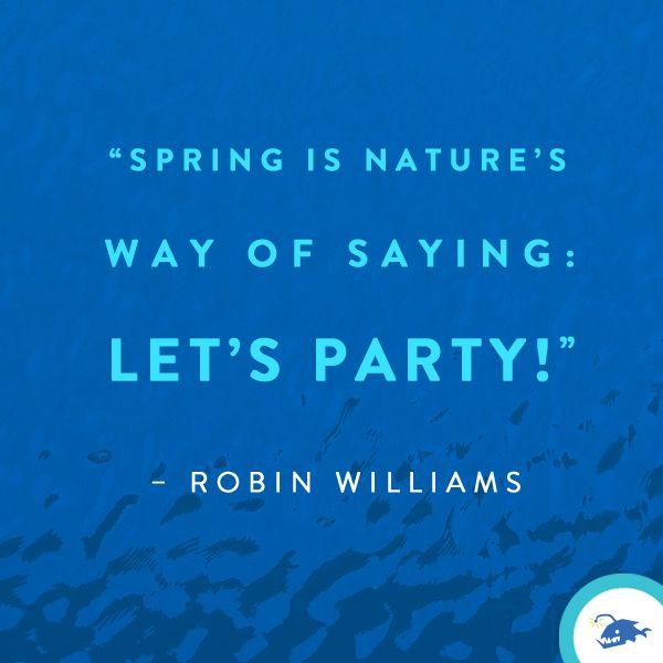 Ahhh spring... we missed you.