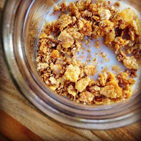 the Non-Dairy Queen: Crunchy Gluten Free Granola CerealGlutenfr Dairyfr, Crunchy Gluten Fre, The Queens, Gluten Free Granola Cereal, Gluten Fre Granola, Dairy Free, Non Dairy Queens, Cereal Breakfast, Breakfast Glutenfr
