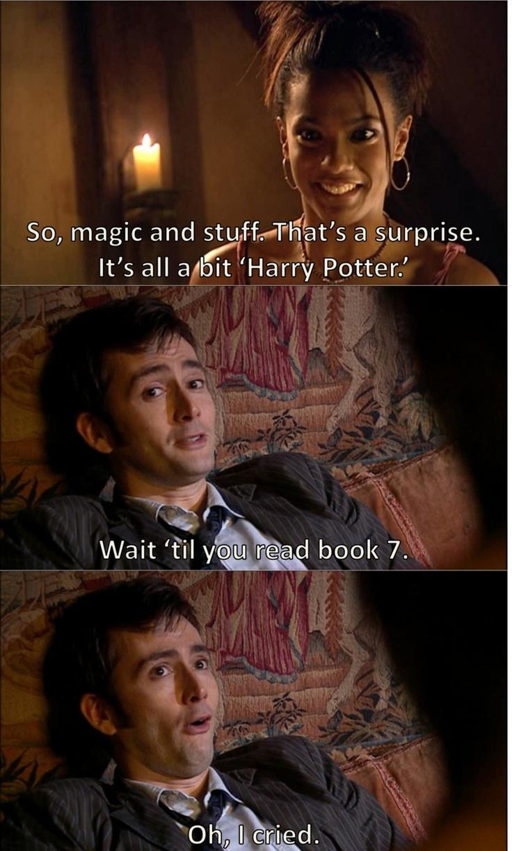 harry potter references