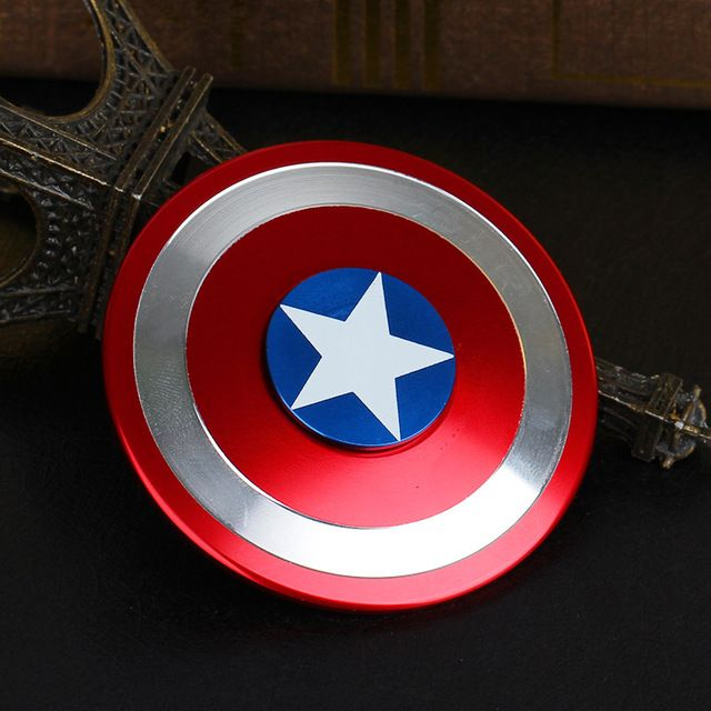 WHOLESALE SPC CAPTAIN AMERICA FIDGET SPINNER EDC TOY EDC ADHD FOCUS FOR KID: Wholesale Toys & Games, Enewwholesale.com