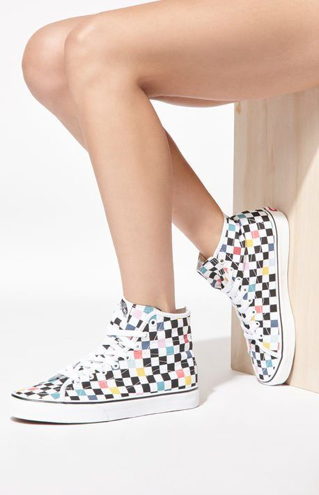 530eb84d25 Women s Checkered Sk8-Hi Decon Sneakers