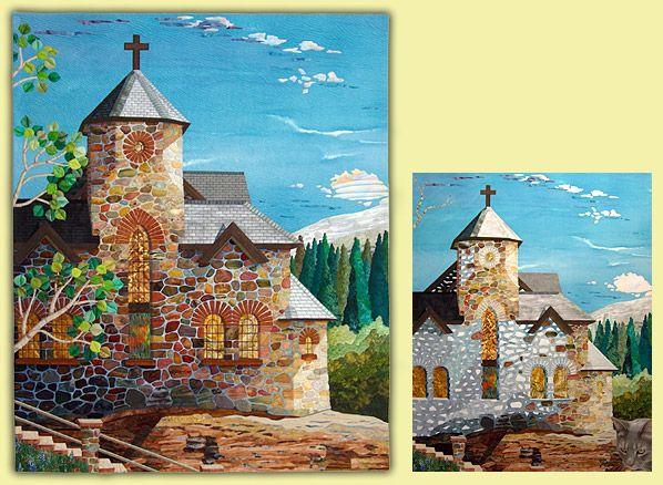 114 best Art Quilts - buildings images on Pinterest | Landscapes ... : pictorial quilt - Adamdwight.com