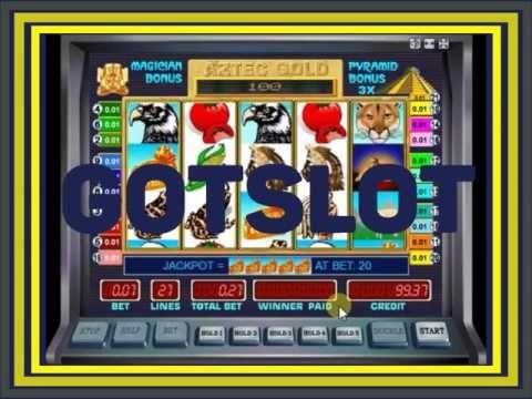 Видео обзор игрового автомата Золото Ацтеков, Пирамиды