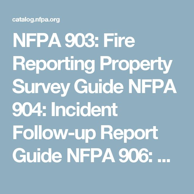 Best Nfpa National Fire Protection Association Images On