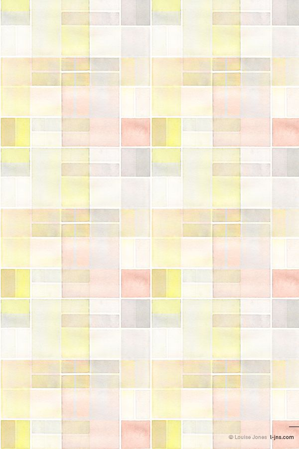 OCT | Grid | Colourway 1 © Louise Jones