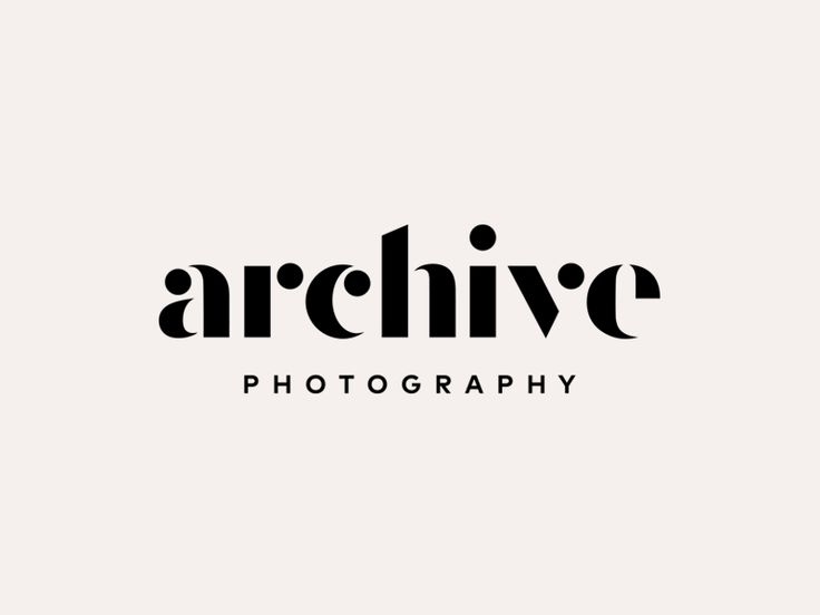 Final identity for a photographer up in Connecticut.