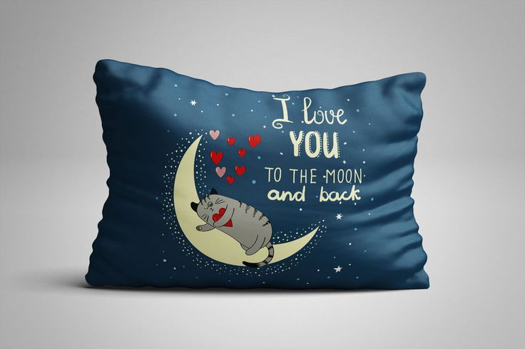 """Quotes I Love You To The Moon Zippered Pillow Case 16""""x 24"""" - Two sides cover #summer2017 #autumn2017 #fall2017 #winter2018 #spring2018 #vogue2017 #christmas2017 #halloween2017 #thanksgiving2017 #summer #spring #autumn #fall #winter #christmas #halloween #vogue #thanksgiving #quotes #quotestoliveby #quotestagram #quotesoftheday #quotesdaily #quotesaboutlife #quotestags #quotesgram #quotesofinstagram #quotesandsayings #quotesforlife #QuotesForYou #quoteslife #quotesaboutlifequotesandsayings…"""