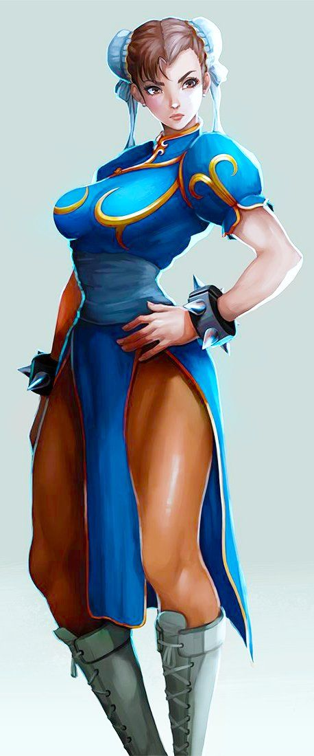 Street Fighter, Chun-li, by mynare