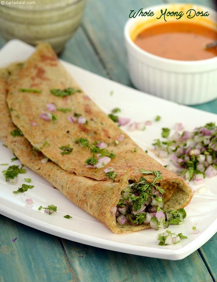 Whole moong dosa recipe cholesterol levels low cholesterol and saved by forumfinder Images