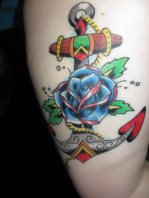Roses For Sale Near Me >> 17 Best images about Anchor Tattoos in Color on Pinterest ...