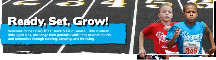 Hershey Track and Field Games for Kids