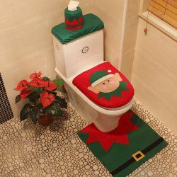 SHARE & Get it FREE | 3PCS Christmas Toilet Decoration Closestool Cushion Cover SetFor Fashion Lovers only:80,000+ Items • FREE SHIPPING Join Twinkledeals: Get YOUR $50 NOW!