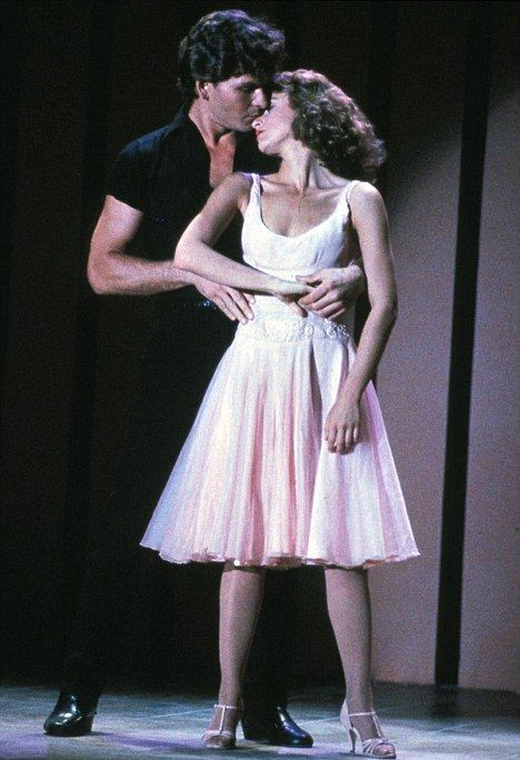 1980s vintage patrick swayze jennifer grey dirty dancing