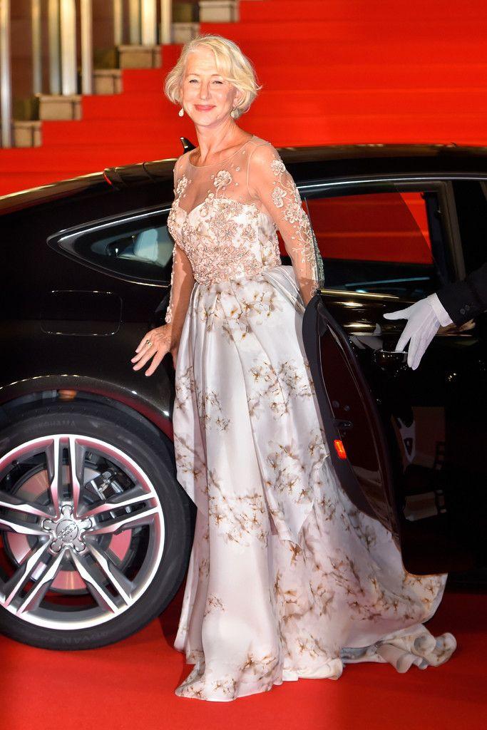 Dame Helen Mirran at Tokyo International Film Festival 2015 Opening Ceremony