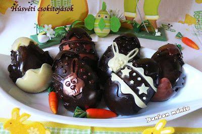 Bonbon mánia: Húsvéti csokitojások