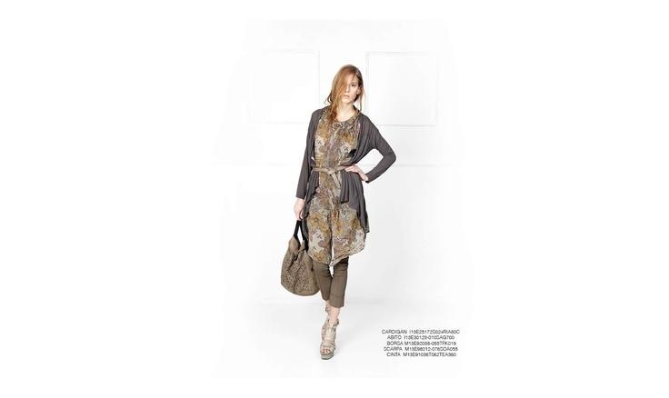 Malloni Grey Collection S13 #slacks #sandal #bag #belt #dress
