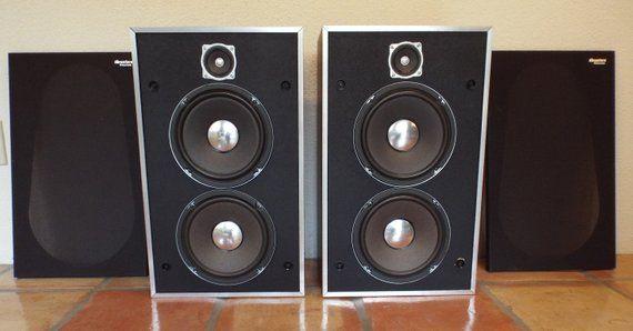 Panasonic Thrusters Vintage Two Way Speaker System Pair Free Shipping To Us Vintage Speakers Vintage Electronics Bookshelf Speakers