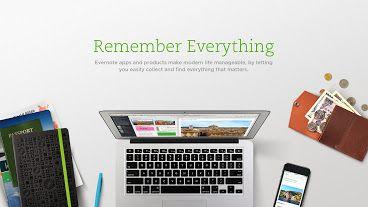 Evernote — веб-сервис и набор программного обеспечения для создания и хранения заметок. В качестве заметки может выступать фрагмент форматированного текста, веб-страница целиком, фотография, аудиофайл или рукописная запись. Заметки могут также содержать вложения с файлами другого типа. ... http://ru.wikipedia.org/wiki/Evernote