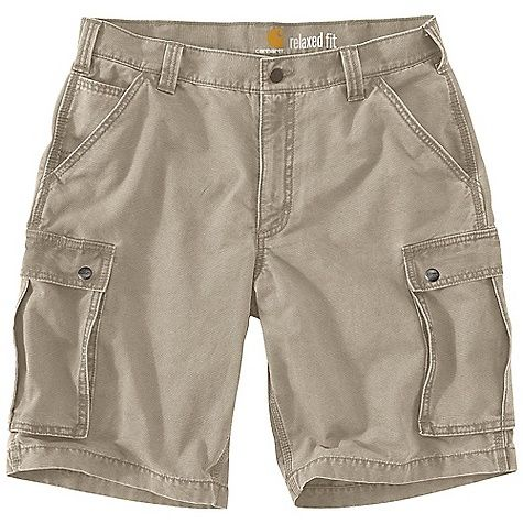 Carhartt Men's Rugged Cargo Short: FEATURES of the Carhartt Men's Rugged Cargo Short Sits slightly below the waist Relaxed seat and thigh…