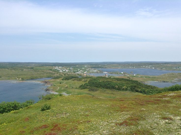 View from the top of the Fox Island Trail in Champneys West, Bonavista Peninsula, Newfoundland -Gayla Cameron 2015
