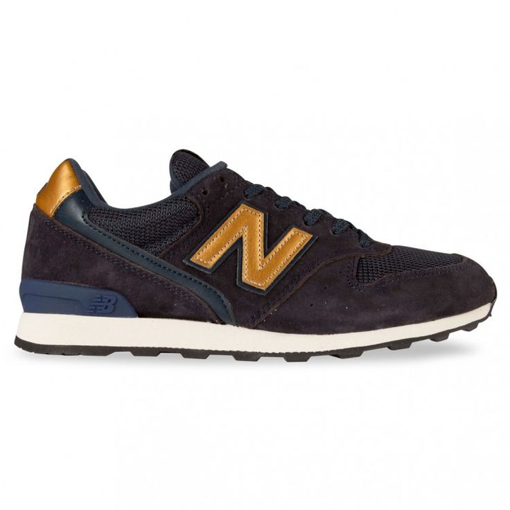 new balance 996 navy gold