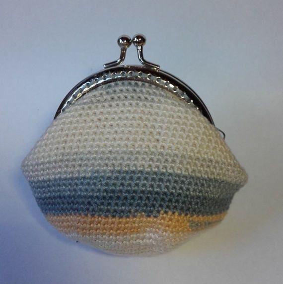 Mountain Top Crochet Coin Purse