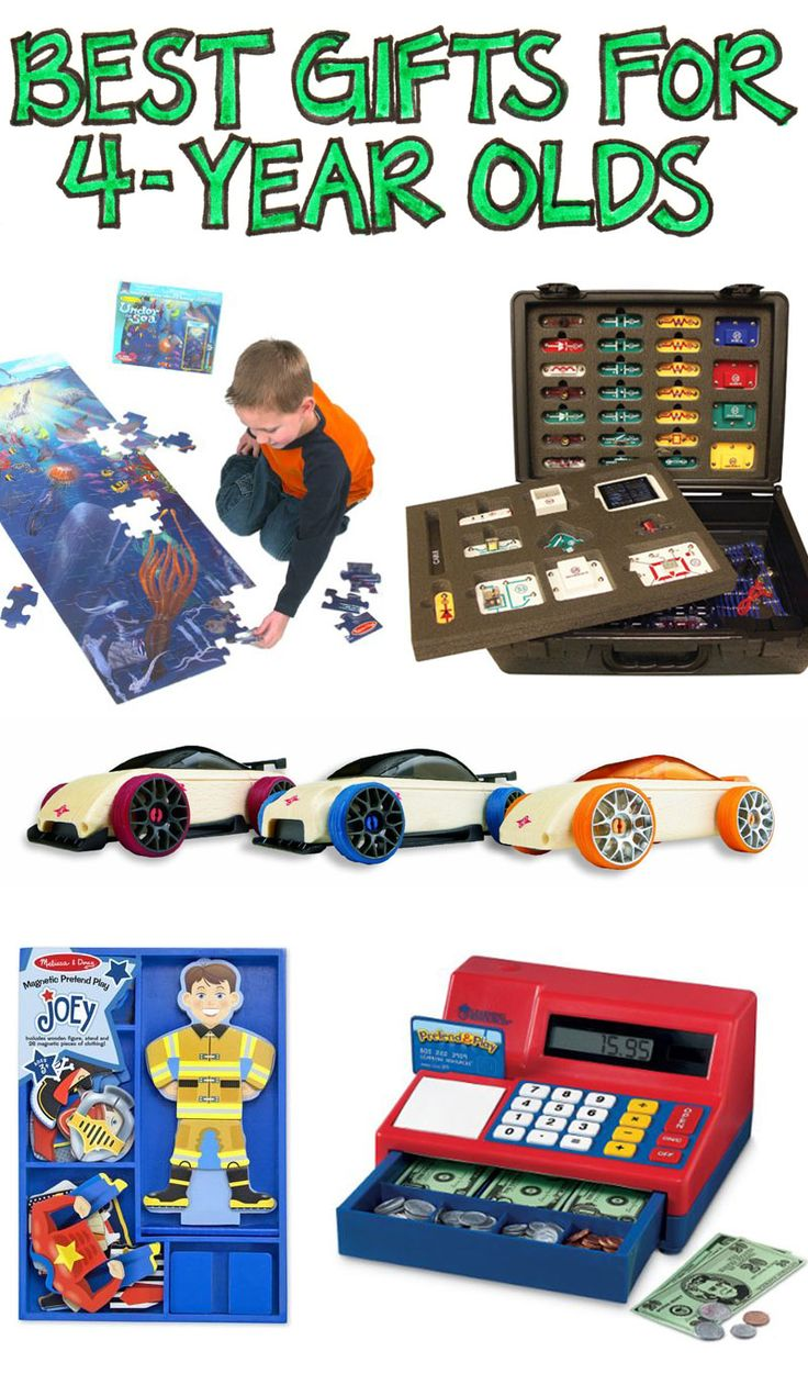 A Selection of the Most Cost-Effective, Enjoyable, Long Lasting, Best Gifts for 4-Year-Olds